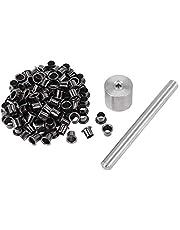 Bopfimer 1 set gereedschap 100 stuks klinknagels nagel installatie gereedschap met zilver messing ngeln