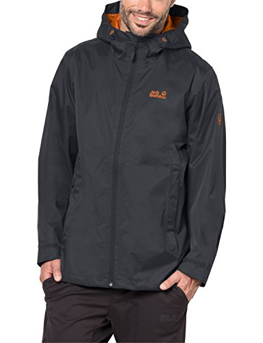 Jack Wolfskin Men's Arroyo Jacket, Medium, Ebony