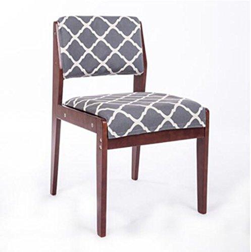 Tabouret en bois Chaise de salle à manger en bois massif Chaise de table à manger simple Chaise de bureau en bois Fauteuil en bois Chaise de restaurant Chaise en bois massif (Couleur : J)