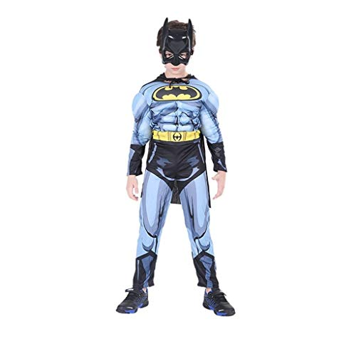 LEZDPP Hierro de nios de Halloween Man Battle Suit Spider-Man Panti Capitn Amrica Capitn COS Conjunto (Color : H, Size : M)