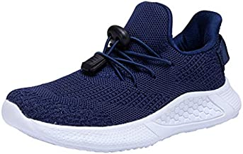 SINOSKY Boys Girls Running Shoes Athletic Tennis Sneakers (10 Toddler,Blue)