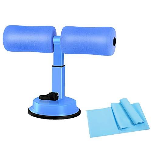 LLYU Dispositivo de asistencia para sentadillas, multifunción, ajustable, portátil, para abdominales, ajuste del vientre, dispositivo de apoyo para hombres y mujeres, herramienta de peso