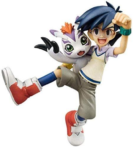 XXSDDM-WJ Regalo Digimon City Deity Animal de Goma PVC Figura de acción Anime Figura 10cm decoración de Escritorio Caja de Color POR86
