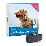 Tractive Localizzatore GPS per Cani, a Portata Illimitata, Monitoraggio dell'Attività, Impermeabile