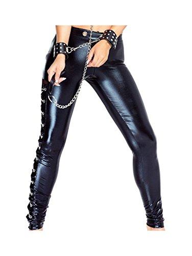 Wetlook Hose-Pants von Provocative L/XL
