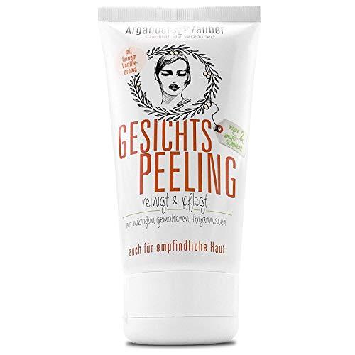 Arganöl-Zauber Gesichtspeeling, Face Scrub, gegen Unreinheiten und trockene Haut 1 x 150 ml