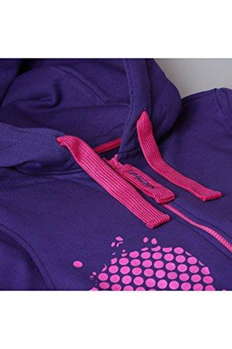 Jumpster Damen und Herren Jumpsuit Langer Overall First G. Slim Fit Pink - 4