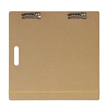 US Art Supply Artist Sketch Tote Board - Great for Classroom, Studio or Field Use (18 x18 )