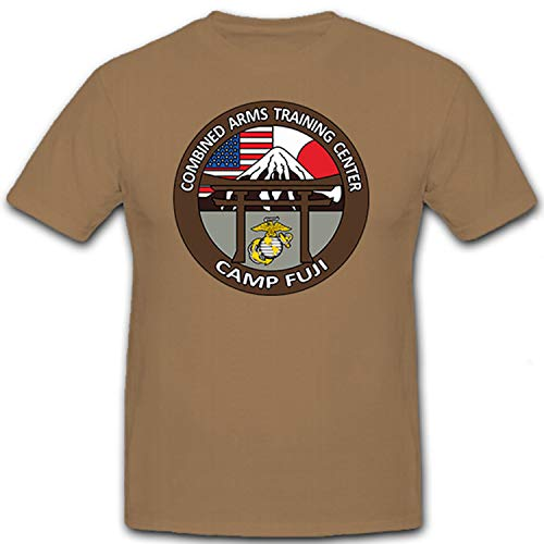 Copytec Combined Arms Training Center Camp Fuji US Army Militär Escudo nadadores Emblema – Camiseta # 8727
