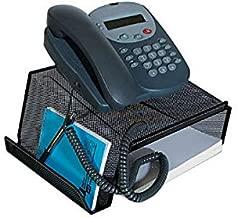 1InTheOffice Telephone Stand Desktop, Mesh