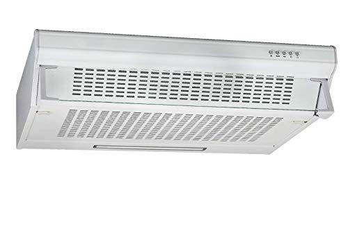 Range Hood 30 Inch, White.Under Cabinet Seamless Kitchen Range Hoods with LED Lights,3 Speed Exhaust Fan,Lighting Ducted Kitchen Exhaust Fan Hood