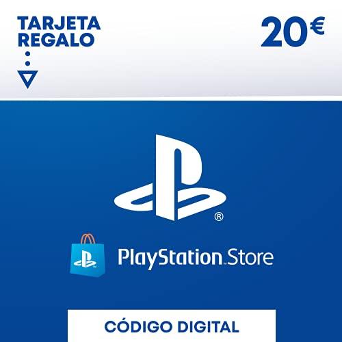 Sony, PlayStation - Tarjeta Prepago PSN 20€   PS5/PS4/PS3   Código de descarga PSN - Cuenta española