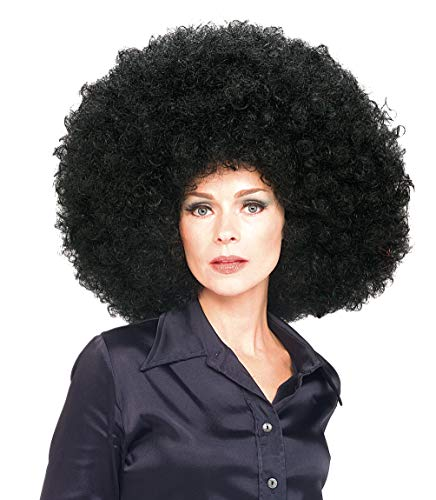 Rubie's Costume Super Size Afro Wig, Black, One Size