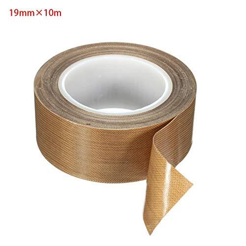 Teflonband PTFE Klebeband für Vakuummaschine, zum Abdichten von Hand- und Impuls-Versiegelungen, Hochtemperatur-Trocknen von Förderband
