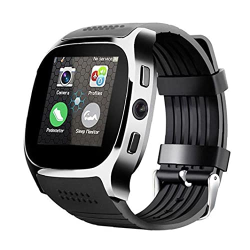 Smart Watch con la cámara Bluetooth Smart Band Support SIM TF CARD CALL SPORTS PEDETRÓMETE PARA TELÉFONO BRAKPOPULAR Y RESULTADOS