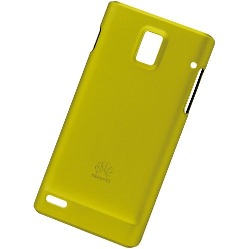 Huawei Ascend P1 PC Cover gelb