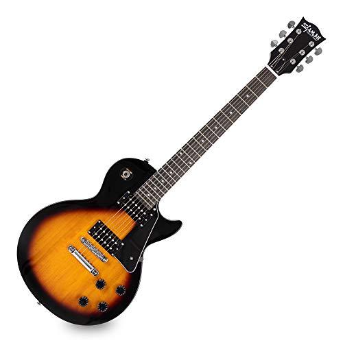 Shaman Element Series SCX-100VS - E-Gitarre in Single Cut-Bauweise - geleimter Hals aus Mahagoni - Macassar-Griffbrett - Vintage Sunburst