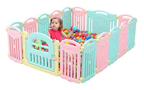 zvcv Mini Tienda para niños, Valla para niños pequeños, Juego de Valla de Aislamiento para Gatear para bebés, Valla de Seguridad para bebés, Valla Protectora, Juguete Interior para el hogar