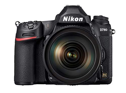 Nikon D780 Vollformat Digital SLR Kamera mit Nikon AF-S 24-120mm 1:4G ED VR (24,5 MP, 4K UHD Video incl. Zeitlupenfunktion, 3,2 Zoll neigbarer Monitor mit 2,4 Mill. Bildpunkten, SnapBridge)