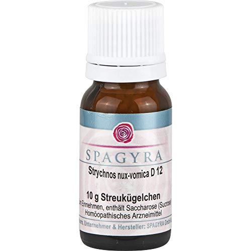 STRYCHNOS nux-vomica D 12 Globuli 10 g