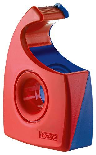 Tesa Tesafilm Abroller (Wellenmesser, bis Rollenbreite 19 mm, rot/blau) 57444-00001-01