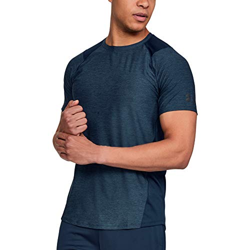Under Armour Men's MK1 Short Sleeve T-Shirt , Academy Blue (408)/Stealth Gray , Academy Blue (408)/Stealth Gray