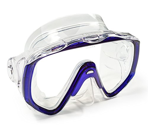 Tilos Titanica, Single Lens Mask for Scuba and Snorkeling