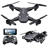 VISUO XS816 4k Drone with Camera Live Video, Teeggi WiFi FPV RC Quadcopter with 4k Camera Foldable...