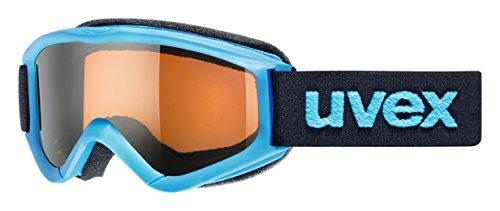 Uvex Speedy Pro Gafas de esquí, Niños, Blue/lasergold, One Size
