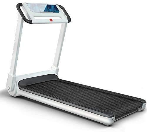 HIHIHI Electric Treadmill Tragbare Hausübmaschine Fitness 3.5HP Silent- und Vibrationsfreies Desktop-Laufband mit LCD-Display-Einstellbarer Neigung (Color : Black)
