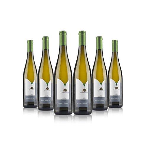 Gewürztraminer vino bianco biologico 6 bottiglie | Cantina Toblino