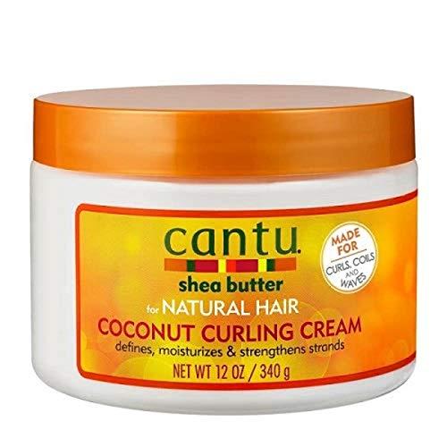 Cantu, burro di karité per capelli naturali, crema al cocco per capelli ricci, 340 g