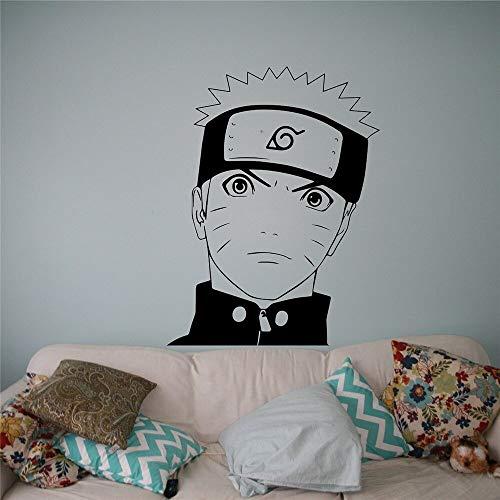 Hetingyue muursticker van vinyl anime, Japanse stijl, manga, huisdecoratie voor binnen, afneembaar