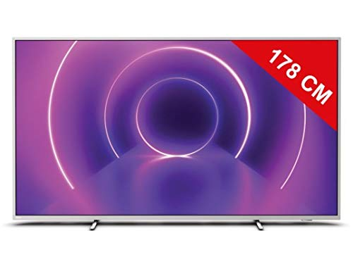 "TELEVISOR PHILIPS 70PUS8555 - 70""/178CM - 3840*2160 4K - AMBILIGHT*3 - HDR10+ - DVB-T/T2/T2-HD/C/S/S2 - ANDROID TV - 20W - WIFI - BT - 4*HDMI - 2*USB"