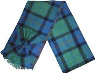 Kilts Wi Hae Scottish 100% Wool Tartan Ladies Mini Sash with Rosette - Flower of Scotland
