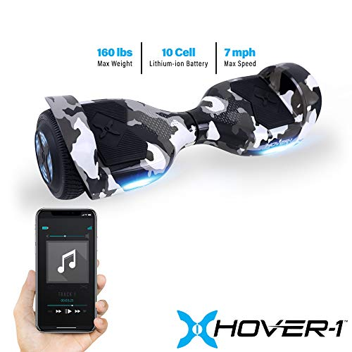 Hover-1 Helix Electric Hoverboard Scooter, Camo