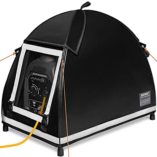 IGAN Small Inverter Generator Tent Cover While...