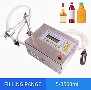 YTK Accuracy Digital Liquid Filling Machine LED Perfume Drink Water Milk Oil Filling Machine Bottle Vial Filler 5-3500ml with foot pedal