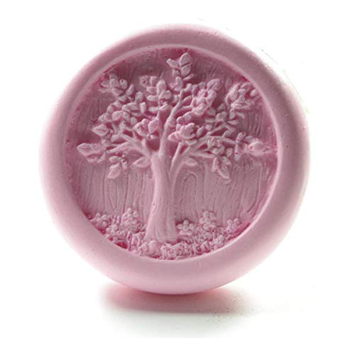S074 Life Tree Soap Molds Silicone Soap Mold Craft Molds DIY Handmade Longzang Mold