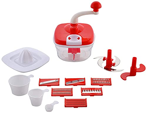 Aasharo store 10in1 Advance Dual Speed Multi-functional Food Processor - Atta Kneader ,Dough Maker ,Juicer With Chop, Dicer
