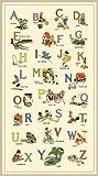 Michael Miller Alphabet-Panel – ABC Vintage – Baumwolle