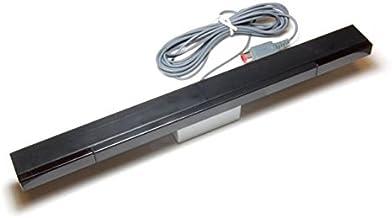 Wired Infrared Sensor Bar for Wii-U (Black)