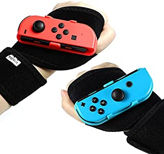 Wrist Bands for Switch Just Dance 2021, Game Wrist Band Armband for Nintendo Switch Joy-Con Controller Adjustable Just Dan...