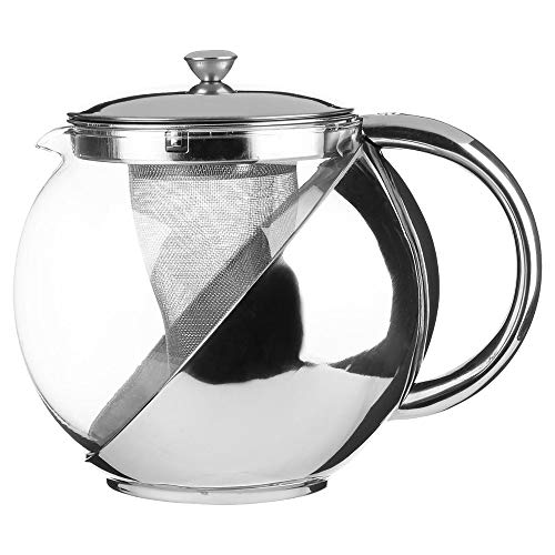Théière avec infuseur - Style design - Capacité 8 tasses