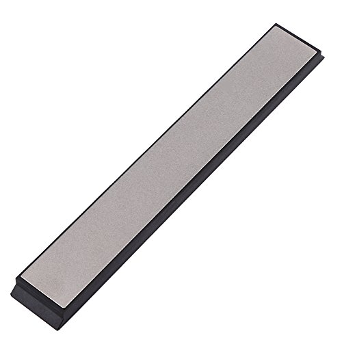 Slijpsteen 300/600/1000 Grit Oliesteen slijpsteen Whetstone polijsten slijpsteen met anti-slip basis voor messen korrel keukengereedschap Outdoor Cutting 600# ColorMap
