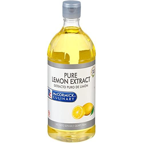 McCormick Culinary Pure Lemon Extract, 32 fl oz