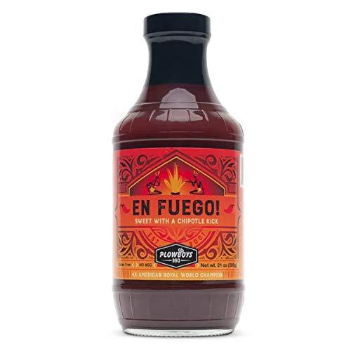 Salsa Picante BBQ Plowboys BBQ 'En Fuego' - 624g (16 oz)