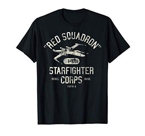 Star Wars Rebel X-Wing Starfighter Corps Collegiate T-Shirt T-Shirt