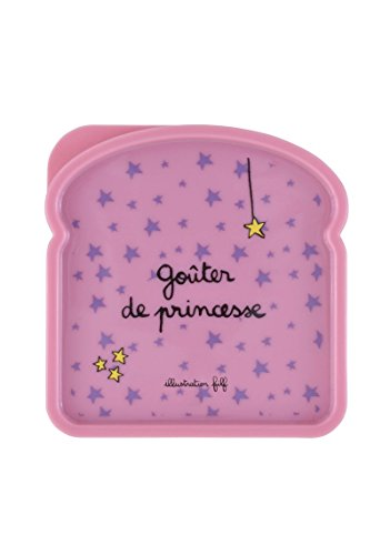 DERRIÈRE LA PORTE Caja Portasandwich Princesse