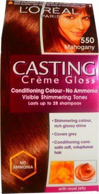 L 'Oreal Paris Casting Creme Gloss Hair Color(Mahogany - 550)